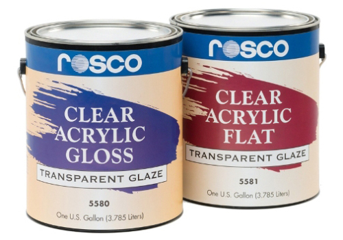 Clear Acrylic Glazes